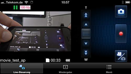 WLAN-App zur Steuerung der XC929