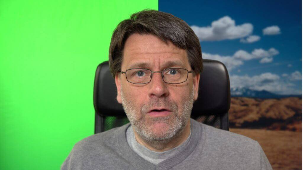 Greenscreen Hintergrund