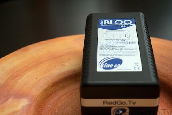 BLOQ-Akku für Kameras.