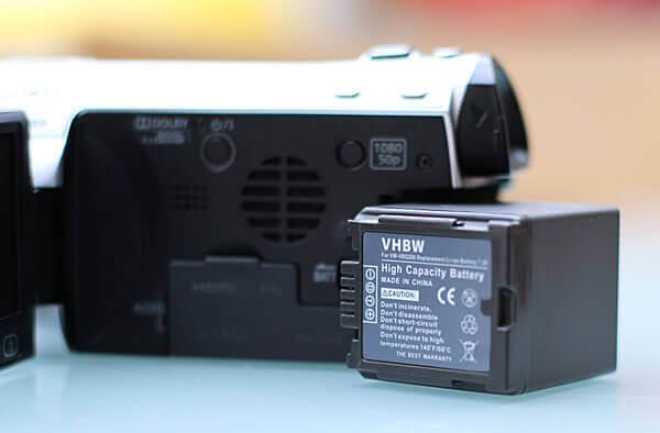 Ersatzakku für die Panasonic HDC SD 707