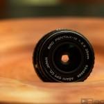 Ein altes Pentax-Objektiv mit 35mm Brennweite