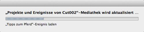 Final Cut Pro 10.1 konvertiert alle Ereignisse und Projekte auf einem Volume und fasst sie in einer Mediathek zusammen.