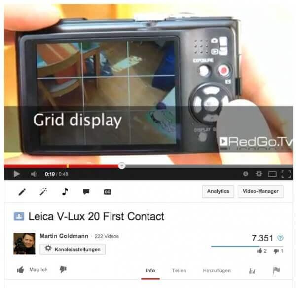 Zeigen statt erklären: Dieses Video lief deutlich besser - ohne Text und ohne mich.