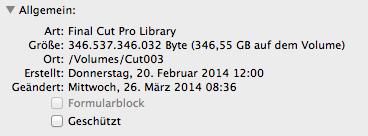 Ziemlich groß - beim Kopieren von Mediatheken zählt jedes Gigabyte.