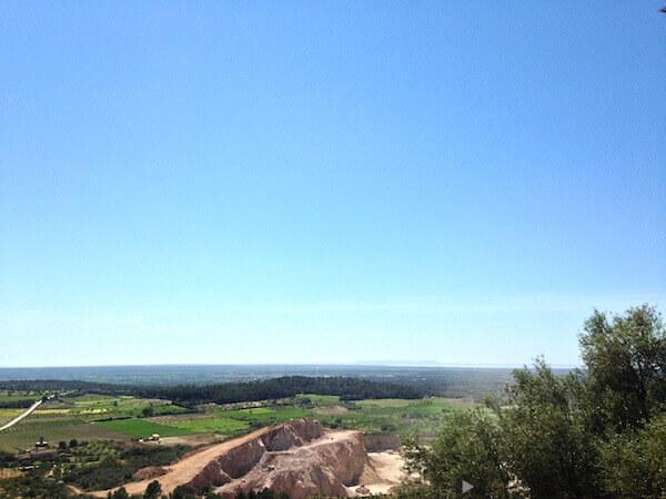 Blick auf die Insel Cabrera vor der Südspitze Mallorcas.