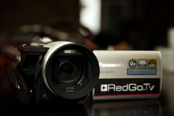 Meine erste HD-Kamera war die kleine SD707 von Panasonic. Die kann ziemlich viel für die kompakte Größe.