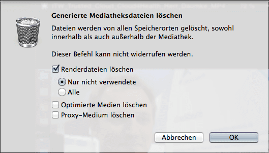 Endlich: ein einheitliches, übersichtliches Interface, mit dem Sie überflüssige Dateien los werden.