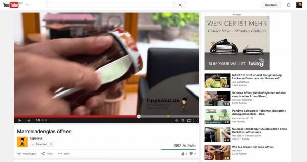 Bei Youtube ist das nächste spannende Video nur einen Klick entfernt.