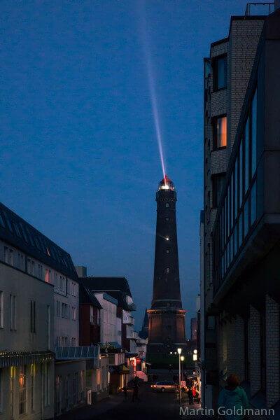 Der neue Leuchtturm auf Borkum.
