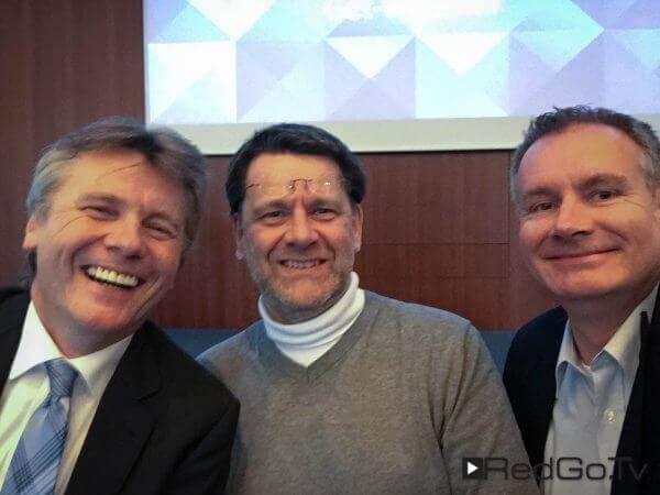 Die Selfie-Brothers von links nach rechts: Christian Spanik, Martin Goldmann, Hannes Rügheimer