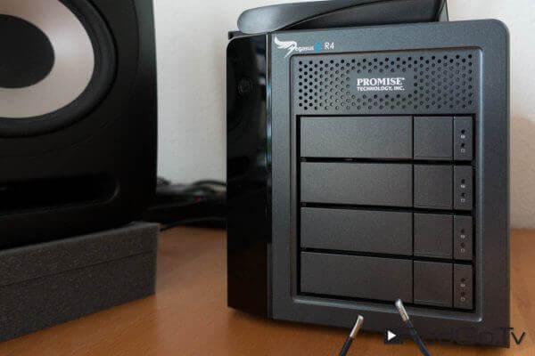 Datenlager: Das Pegasus 2 R4 hat 6 TByte Speicher und ist sauschnell.