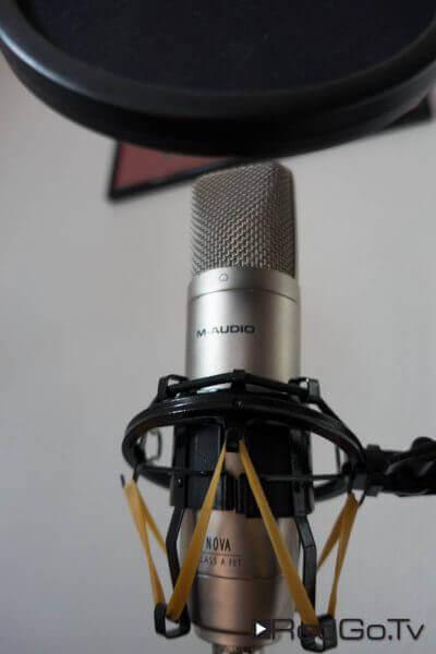 Das M-Audio Nova reicht für Podcasts und Internet-Video.