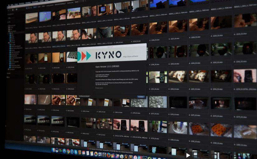 Kyno – Dateiverwaltung für Video, Bild und Ton