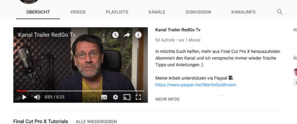 Gute Videos für Youtube drehen