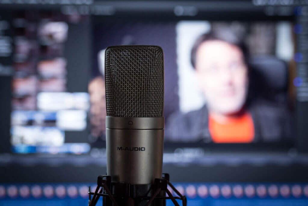 Bildschirmvideo aufnehmen und sprechen