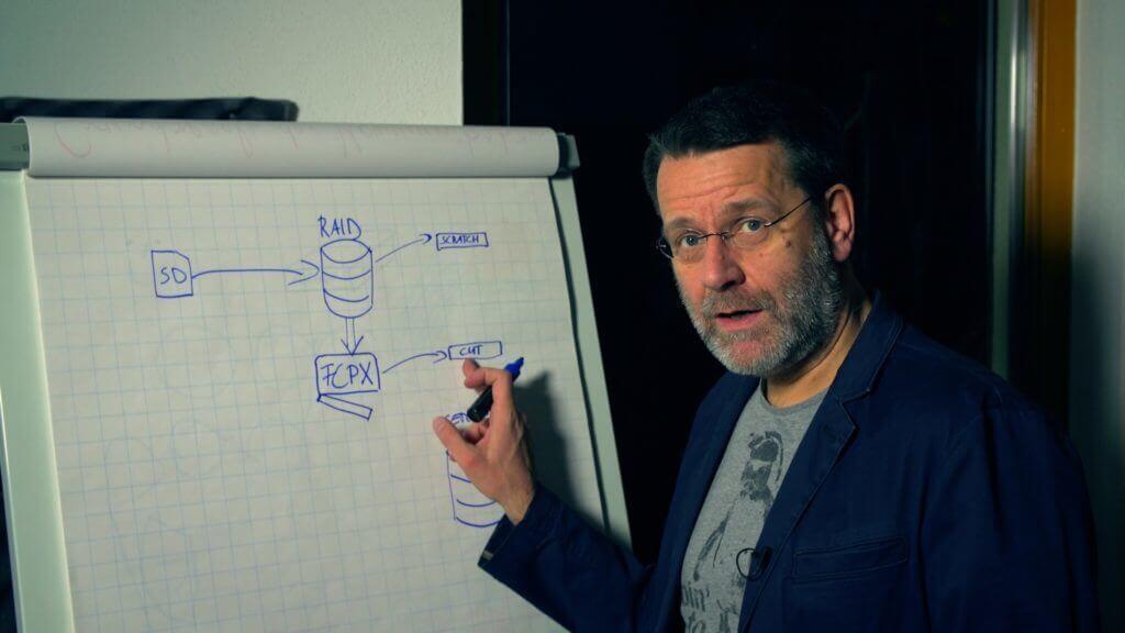 Martin Goldmann beim Seminar Videoproduktion in Unternehmen