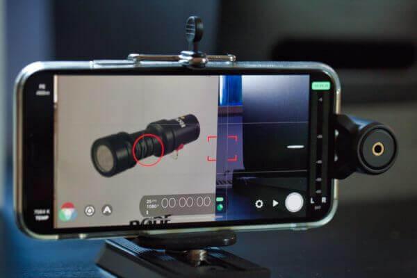 Filmic Pro mit Videomic ME-L