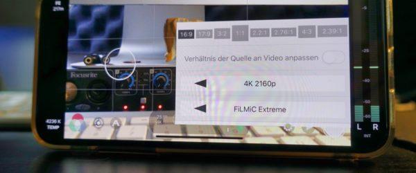 In welcher Auflösung Handy-Filme drehen – Full HD oder 4K?