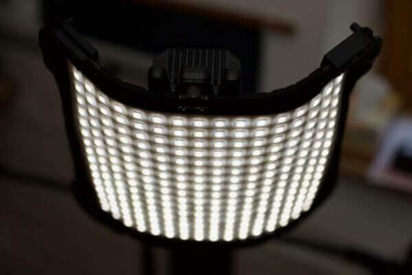 Videoproduktion aufbauen - LED Leuchte