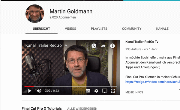 Youtube als Videoplattform