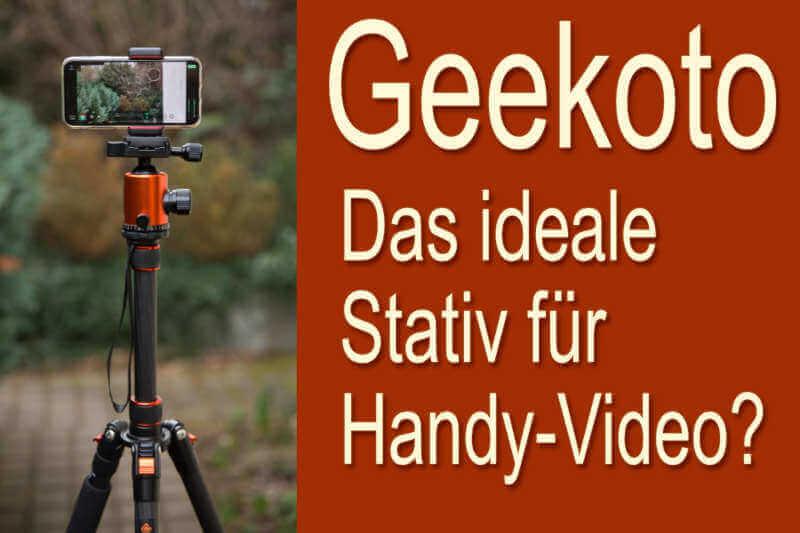 Handy-Stativ Geekoto