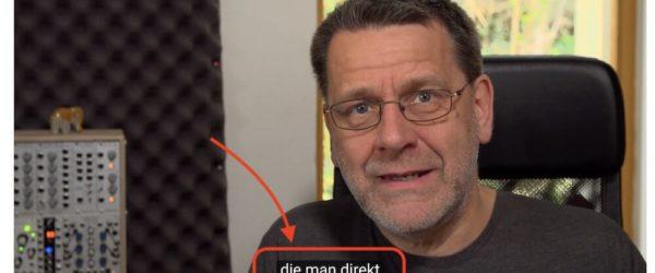 3 gute Gründe für Untertitel in Videos