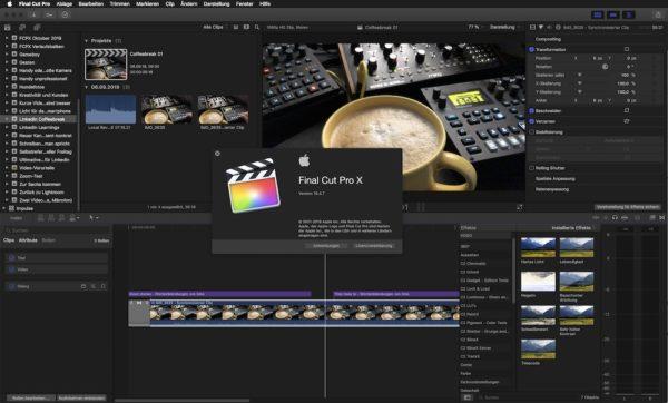 Videos schneiden mit Final Cut Pro X