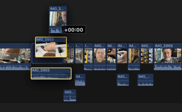 Final Cut Pro X magnetische Timeline