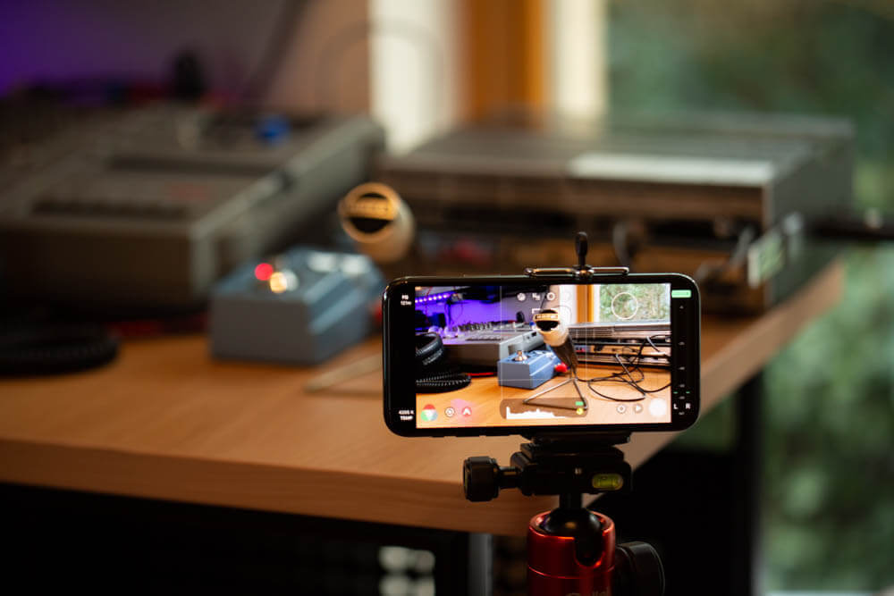 iPhone 11 Pro mit Filmic Pro