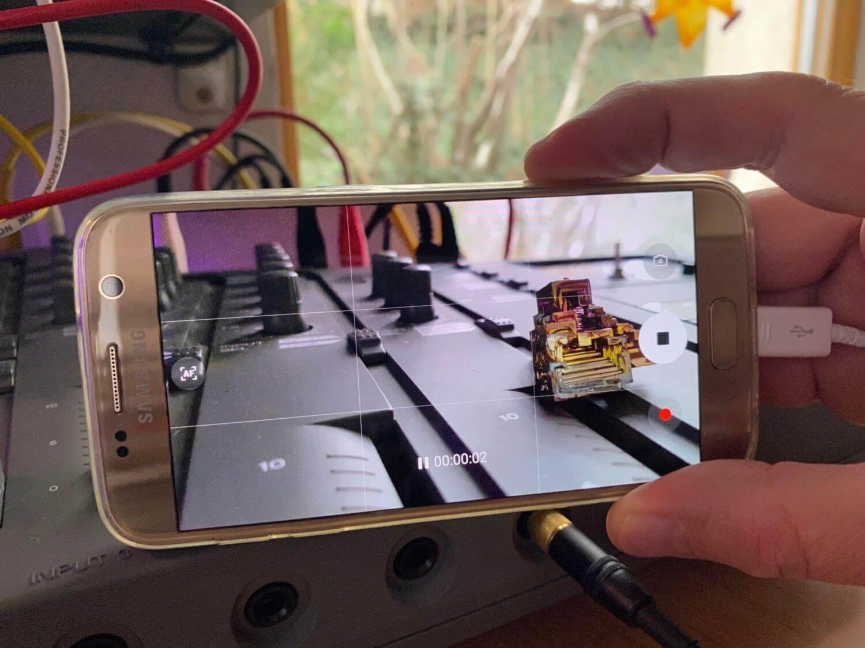 Samsung Galaxy S7 Videoaufnahme