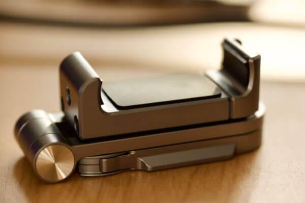 Smallrig Handyhalterung zusammengeklappt