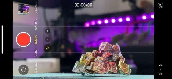 Unscharfer Hintergrund in Handyvideo