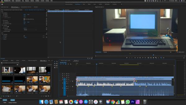 Adobe Premiere CC ist eine Software zum Video schneiden