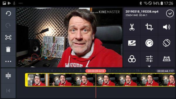 Kinemaster Anfasser Videoclip