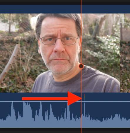 Akustische Markierung in Tonspur